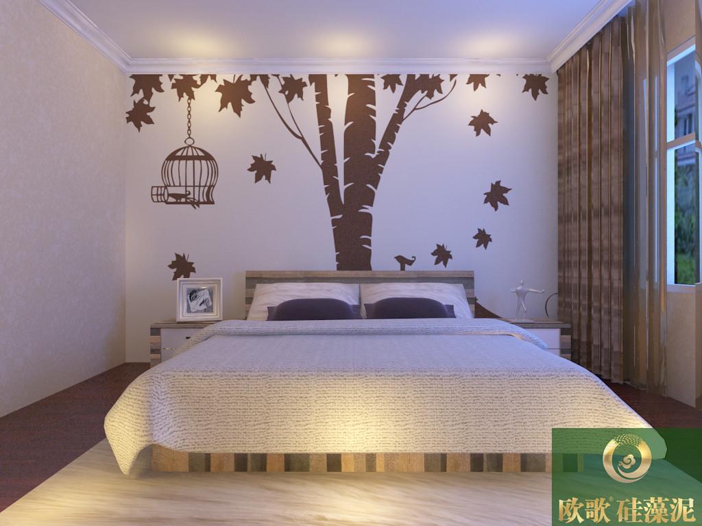 硅藻泥儿童卧室效果图 欧式男孩